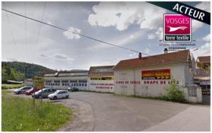 Tissage des Lesses vend des produits labellisés Vosges terre textile