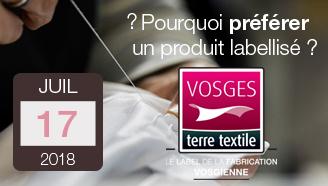 Pourquoi faire confiance au label Vosges terre textile