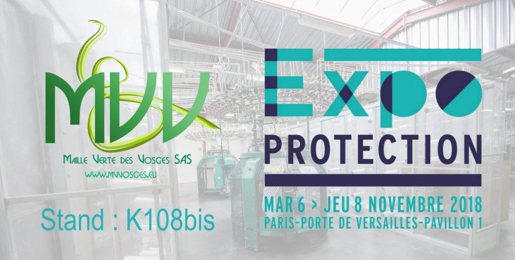 Maille Verte des Vosges expose à Expo Protection