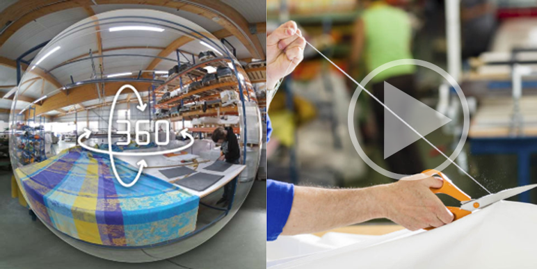 Route du Textile : visites virtuelles et 360°