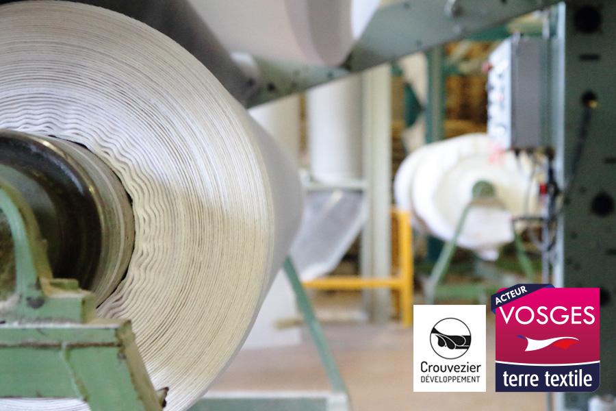 Crouvezier Développement agréée Vosges Terre Textile Made in France
