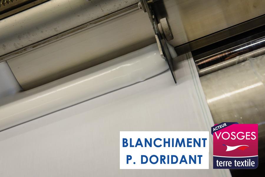 Doridant agréée agréée Vosges Terre Textile Made in France