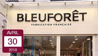 Bleuforêt nouvelles boutiques Paris made in France chaussettes et collants français vosges