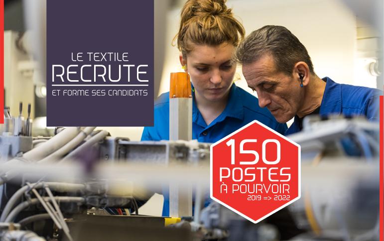 150 postes à pourvoir grâce à la force du label Vosges terre textile