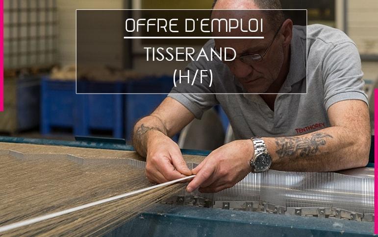 Tisserand offre emploi job eloyes fabrication vosgienne tissus
