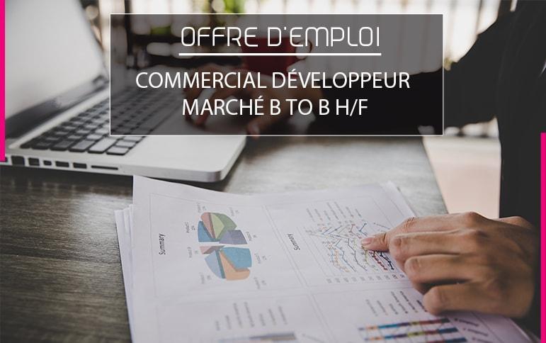 Commercial développeur BtoB Polytex entreprise textile Vosges