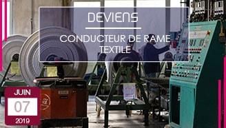 Conducteur de rame textile rameur offre apprentissage vosges alternance professionnelle