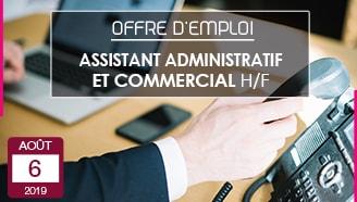 Offre emploi CDI Crouvezier Assistant administratif et commercial entreprise textile Gerardmer Vosges