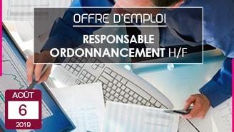Offre emploi CDI responsable ordonnancement Valrupt TGV Industries entreprise textile Vosges