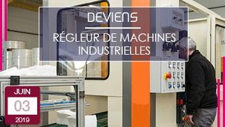 Régleur de machines industrielles Polytex vosges offre apprentissage alternance bts bac pro maintenance industrielle