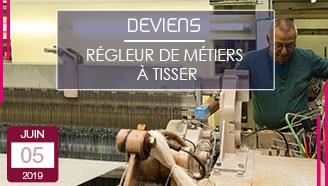 régleur de métiers à tisser manufacture textile des vosges savoir-faire offre apprentissage alternance ferdrupt