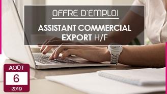 Blanc des Vosges offre emploi assistant commercial export entreprise textile vosges production locale