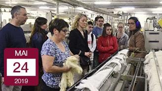 Manufacture textile des vosges les jeunes découvrent les entreprises textiles qui embauchent savoir faire local Vosges made in France