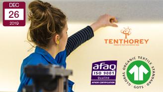 Tissage-Tenthorey-certifié-ISO-9001-et-GOTS-tissu-Coton-à-la-Une