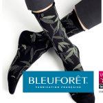 Chaussettes à motifs fabriquées dans les Vosges fabriquées par Bleuforêt