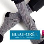 Chaussettes pour homme fabriquées dans les Vosges par BLEUFORÊT