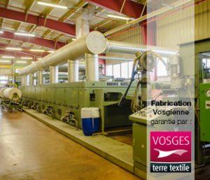 Fabriquer du linge dans les Vosges, c'est le faire ennoblir dans les Vosges