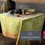 Nappe savane fabriquée dans les Vosges par Garnier-Thiebaut labellisée Vosges terre textile