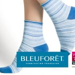 Socquettes femme rayées fabriquées dans les Vosges
