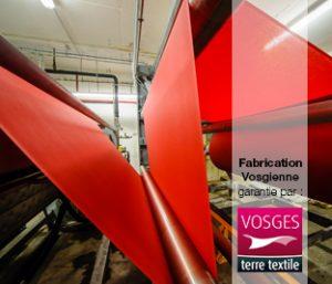Fabriquer du linge de maison dans les Vosges, c'est le faire ennoblir dans les Vosges