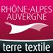 logo rhone-alpes auvergne terre textile