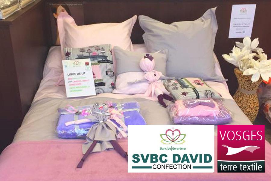 confection linge de lit linge des Vosges, linge de qualité, parure de lit, ligne de lit confection linge de lit