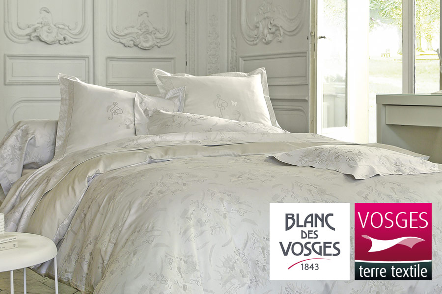 linge des vosges linge de lit linge des Vosges, linge de qualité, parure de lit, ligne de lit linge des vosges linge de lit