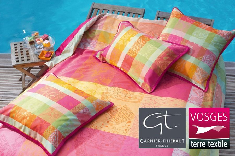 gerardmer linge de lit linge des Vosges, linge de qualité, parure de lit, ligne de lit gerardmer linge de lit