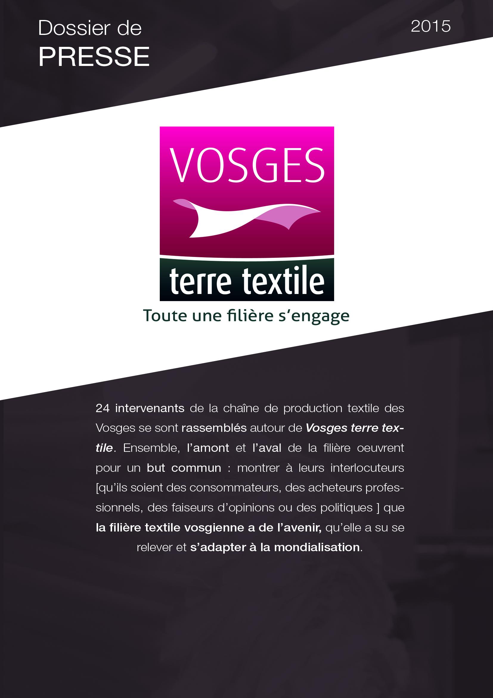 Le label Vosges terre textile mobilise 1000 salariés