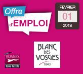 Offre-emploi-Blanc-des-Vosges-Contre-maitre-chef-atelier-confection-Gérardmer