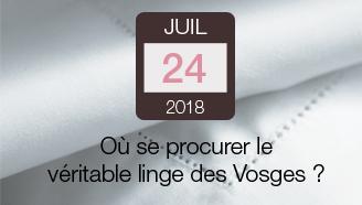 Où se procurer le véritable Linge des Vosges