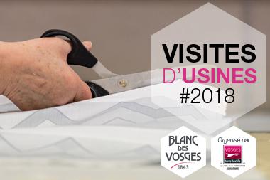 L entreprise Blanc des Vosges, fabricant de linge de lit, vous propose de  venir visiter ses ateliers de fabrication ef09d85e9e3