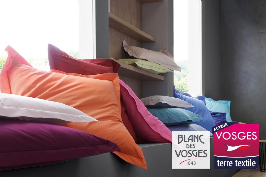 Blanc des Vosges agréée Vosges Terre Textile Made in France