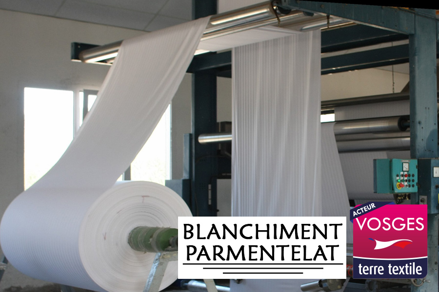 Blanchiment Parmentelat agréée Vosges Terre Textile Made in France
