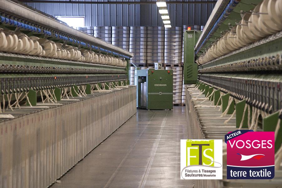Filature et Tissage de Saulxures agréée Vosges Terre Textile Made in France