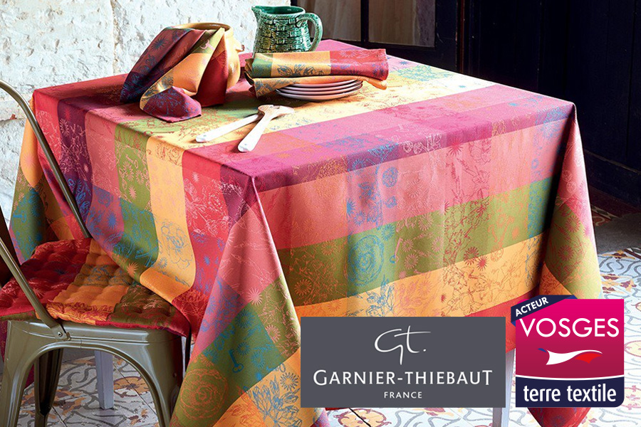 Garnier Thiebaut agréée Vosges Terre Textile Made in France