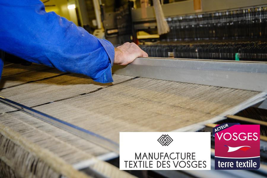 Manufacture Textile des Vosges agréée Vosges Terre Textile Made in France