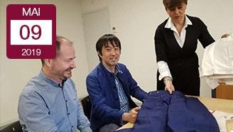 Berjac conclut marché avec japon vêtement industriel japonais