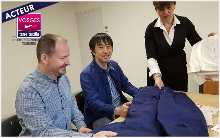 Berjac exporte au japon japonais industriel vosges