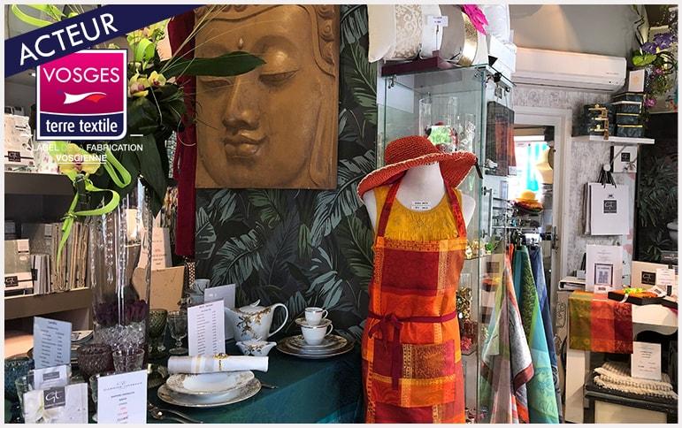 Garnier Thiebaut ouverture boutique Vosges Epinal savoir faire proximité art de vivre production locale