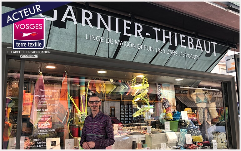 Garnier Thiebaut ouverture magasin Vosges fabrication locale savoir faire proximité