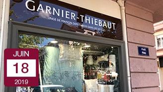 Image A la Une Garnier Thiebaut ouverture Epinal fabrication locale savoir faire Vosges