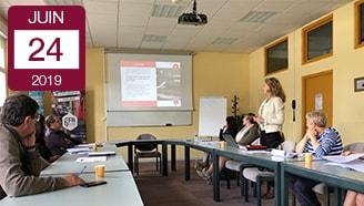 Réunion emploi formation Syndicat Textile Est apprentissage alternance recrutement savoir faire textile vosgien