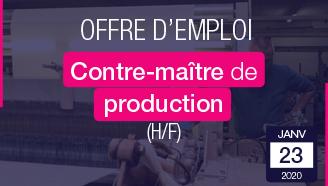 emploi-à-la-Une-Contre-Maître-de-Production-Manufacture-Textile-des-Vosges
