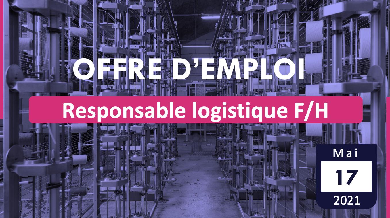 Responsable logistique F/H