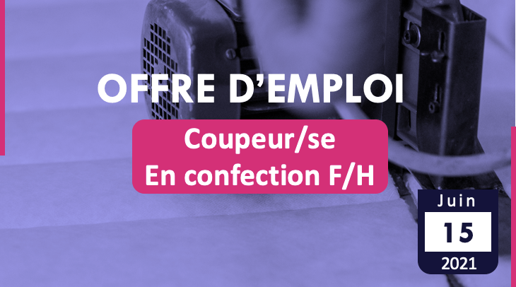 Coupeur/se – en confection F/H