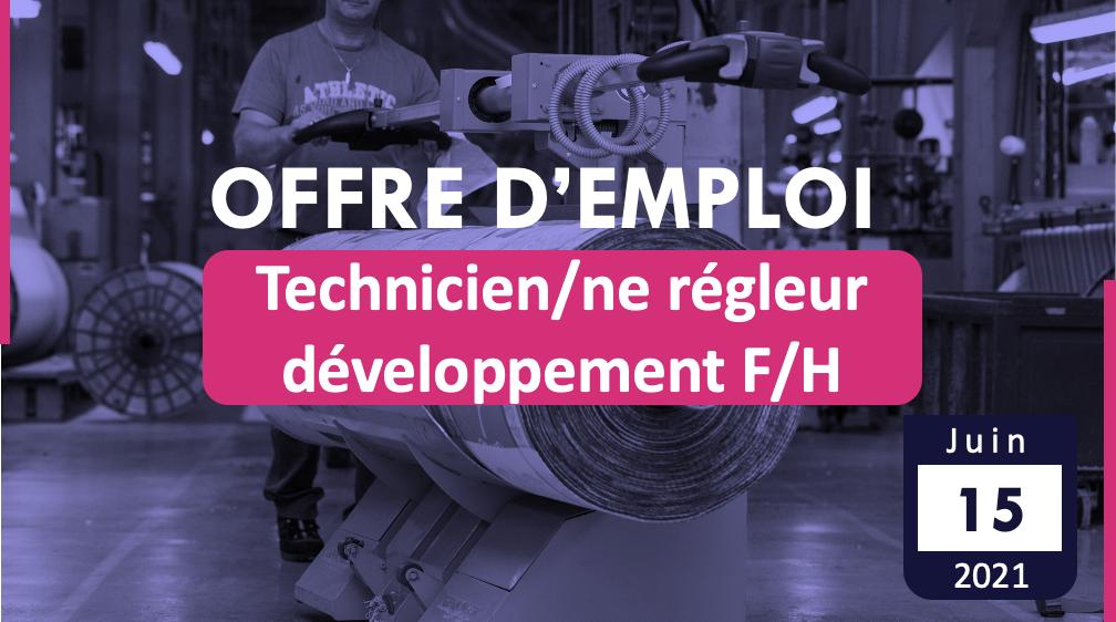 Technicien/ne régleur développement F/H