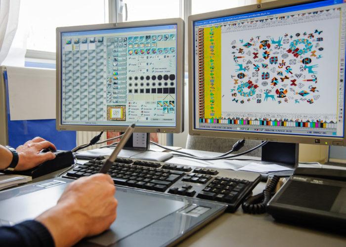 Création sur ordinateur