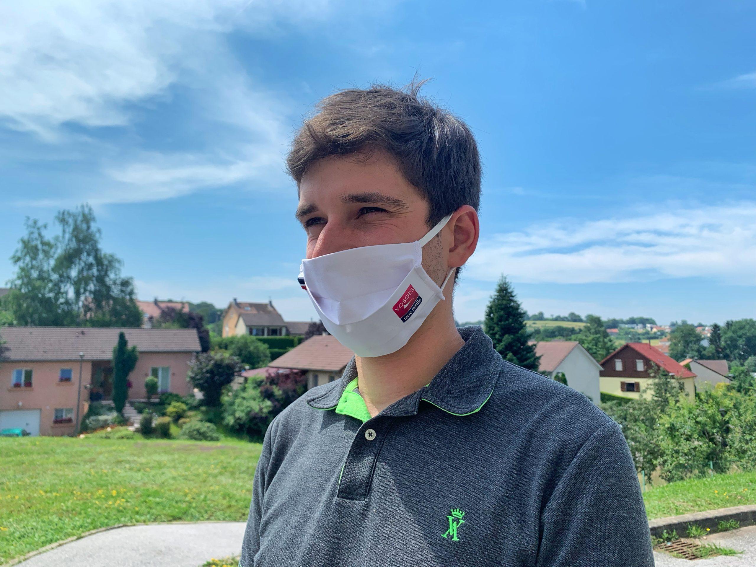 masques Vosges terre textile