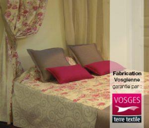 Fabrication vosgienne de linge de lit traditionnel